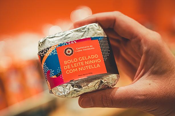 Bolo Gelado Ninho com Nutella | Confeitaria da Luana