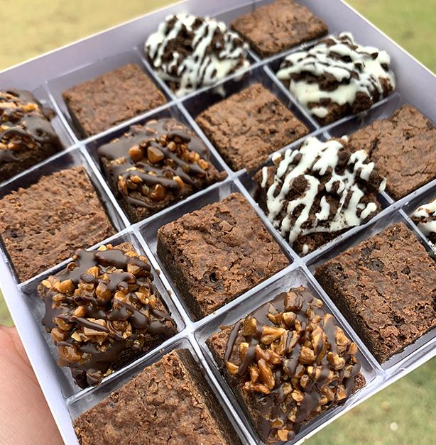 Brownies para Presente | Confeitaria da Luana
