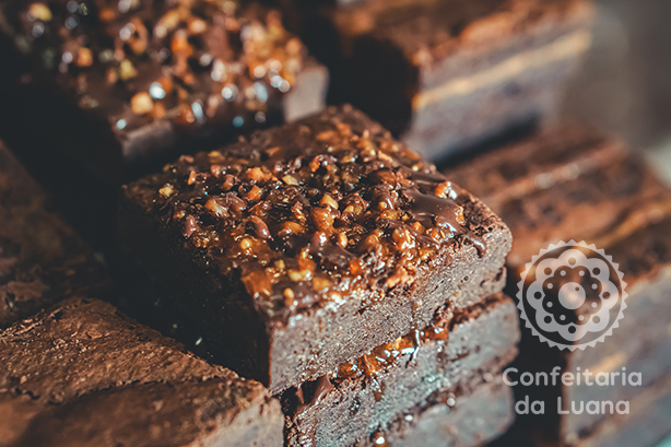 Brownie crocante