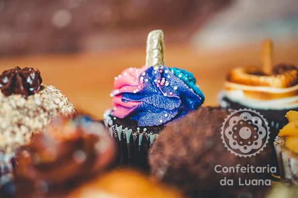 Cupcake de Unicórnio | Confeitaria da Luana
